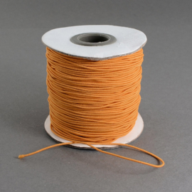 elastisch koord ORANJE 0.8 mm