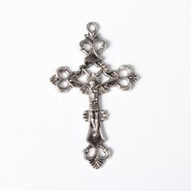 kruis antiek zilverkleur