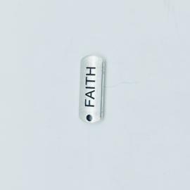"tibetan style bedel/hanger ""faith"""