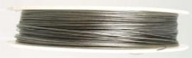 gecoat staaldraad 0,45 mm 10 mtr