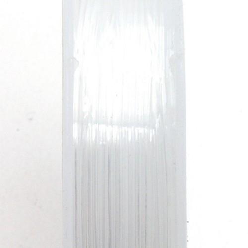 elastisch transparant nylondraad 0,4 mm