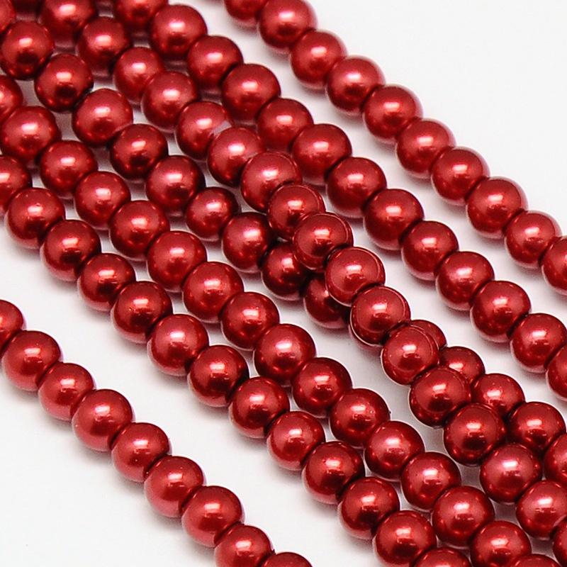 glasparels rood 4mm