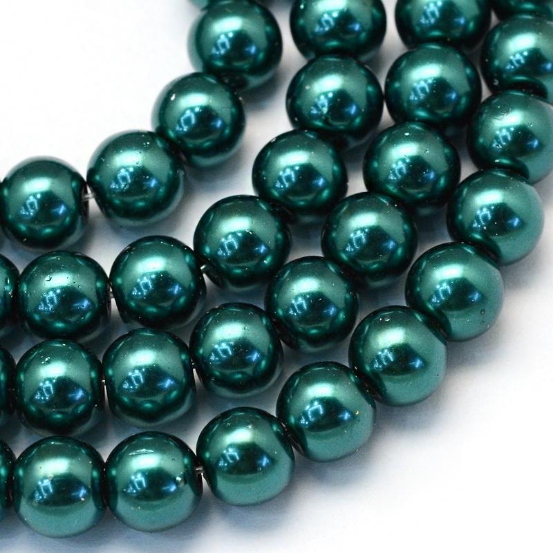 glasparels groen 8mm