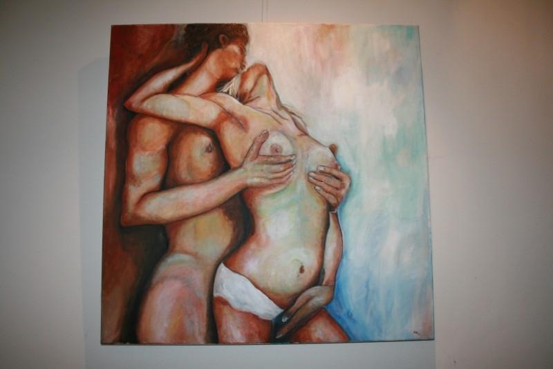 """Olieverfschilderij """"No title"""""""