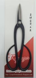Ryuga Zwart carbon staal schaar mg 201 mm