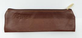 Ryuga lederen tas bruin 200 x 60 mm