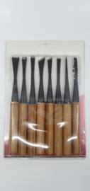 Ryuga guts, jintools 225 mm, set van 8