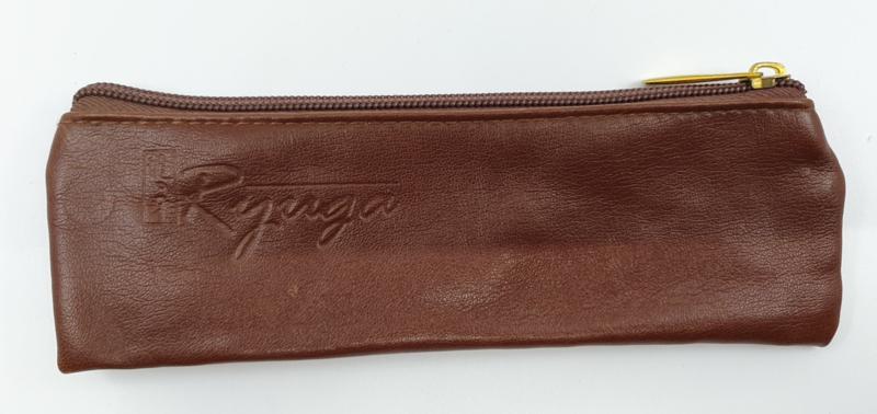 Ryuga lederen tas bruin 220 x 70 mm