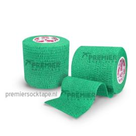 5 rollen Premier socktape PRO WRAP 5.0 cm groen