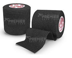5 rollen PST Goalkeeper tape 50mm x5m zwart