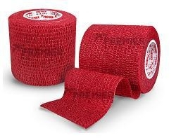 5 rollen PST Goalkeeper tape 50mm x5m rood