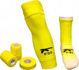 PST Sock Taping Kit - Geel - met gratis tape ter waarde van 14,85