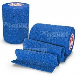 5 rollen Premier socktape PRO WRAP 7.5 cm royal blauw