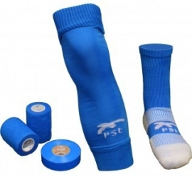 PST Sock Taping Kit  - Blauw - met gratis tape ter waarde van 14,85
