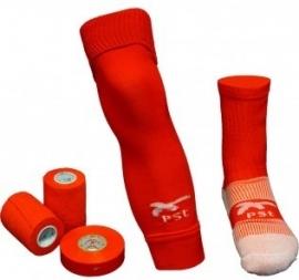 PST Sock Taping Kit  - Rood - met gratis tape ter waarde van 14,85