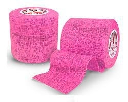 5 rollen PST Goalkeeper tape 50mm x5m roze