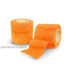 5 rollen Premier socktape PRO WRAP 5.0 cm oranje
