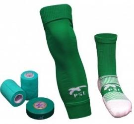 PST Sock Taping Kit  - Groen - met gratis tape ter waarde van 14,85