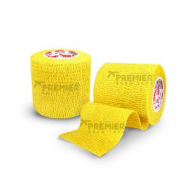 5 rollen Premier socktape PRO WRAP 5.0 cm geel