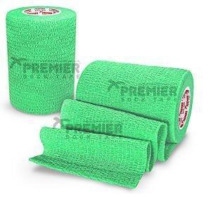 5 rollen Premier socktape PRO WRAP 7.5 cm lime groen