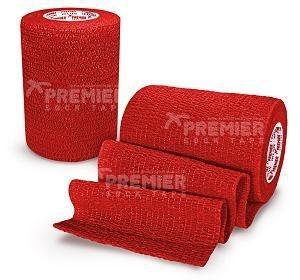 5 rollen Premier socktape PRO WRAP 7.5 cm rood
