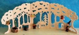 Wood Scene large