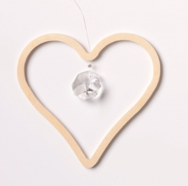 Crystal decoration Heart