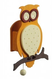 Forest Owl Music Box