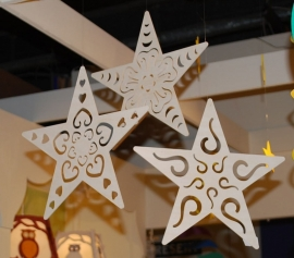 Openwork Stars Large (set of 3 pcs.)