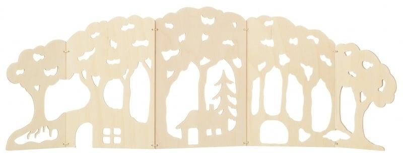 Wood scene small