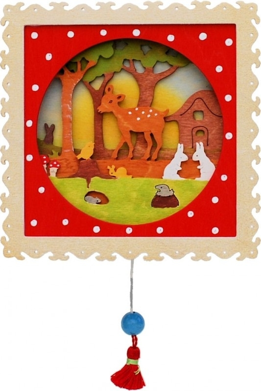Deer in the wood Music Box