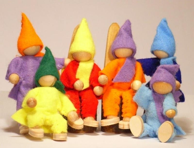 Felt Puppets ( 6 per set)