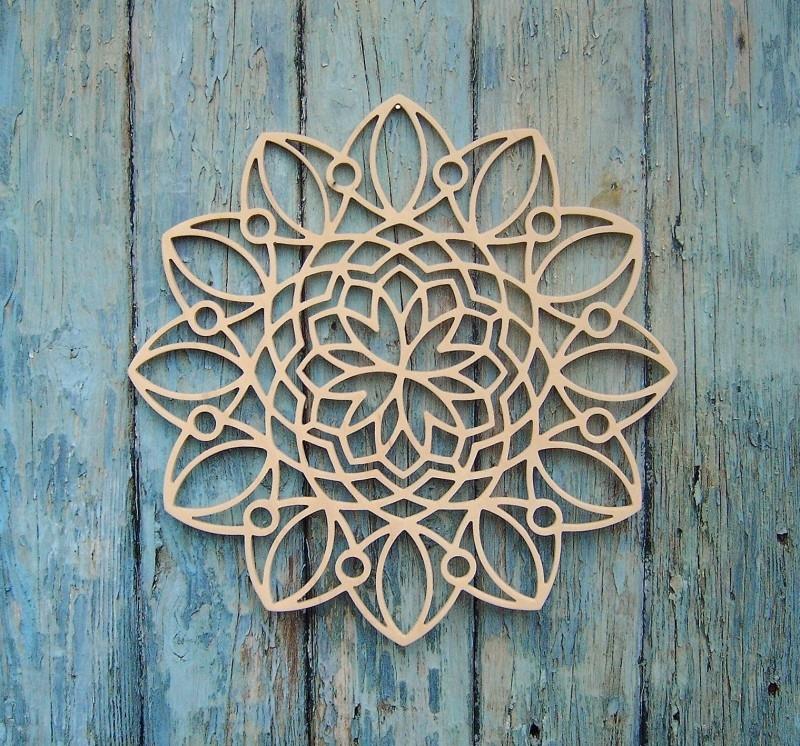 Wooden Mandala Roman