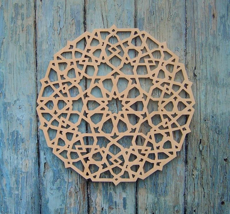 Wooden Mandala Oriëntal