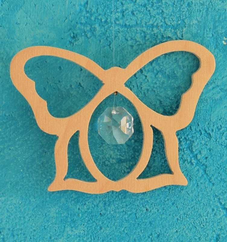 Crystal decoration Butterfly
