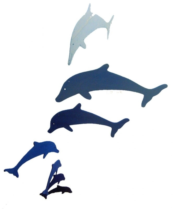 Mobile Dolphin crystal