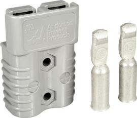 Anderson SB175 connector grijs met contacten voor AWG1/0 ~50mm²