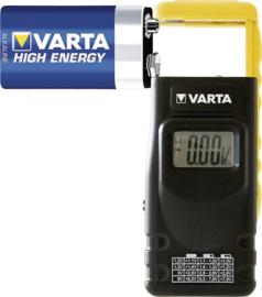 Varta Digitale batterij tester 891 met LCD