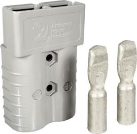 Anderson SB350 connector grijs met contacten voor AWG2/0 ~70mm²