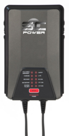 SC Power charger 6/12V 0,8/3,8A - 9 fases voor lood- en lithium accu's