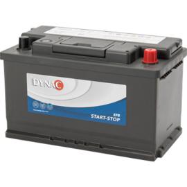 EFB M580500 Start-Stop EFB 12V 80Ah - 730A CCA EN +R