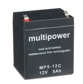 Multipower MP5-12C 12V 5Ah