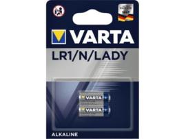 Varta LR1 / Lady / N  1,5V Alkaline Batterij 2 stuks