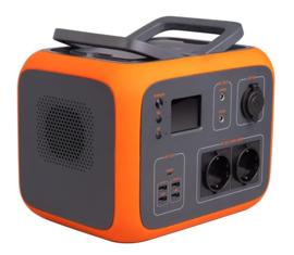 AC50 Draagbare Stroomgenerator 500 Wh Oranje ACTIEPRIJS