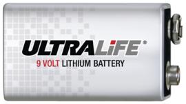 Ultralife Lithium 9 Volt blok