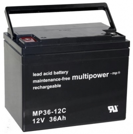 Multipower 36-12C 12V 36Ah