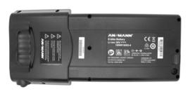 Ansmann 36V 13,4Ah Li-Ion batterij bagagedrager