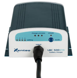 Xenteq LBC 512-10XTR Acculader 12V 10A Spatwaterdicht