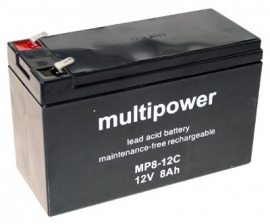 Multipower MP8-12C 12V 8Ah