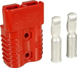 Anderson SB175 connector rood incl. contacten voor AWG1/0 ~50mm²